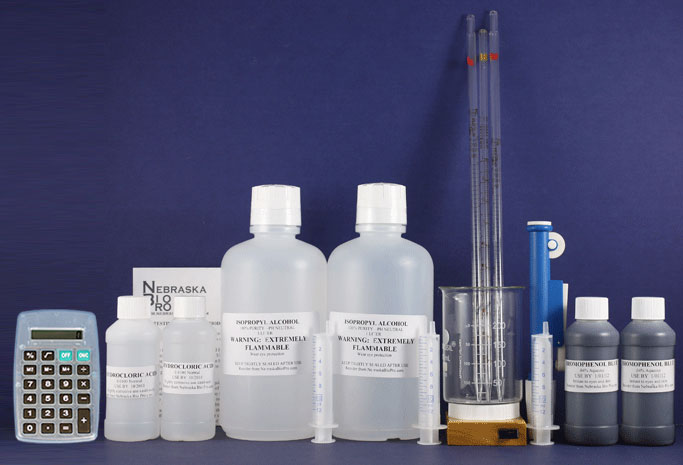 Test Biodiesel for soap with our soap test kit