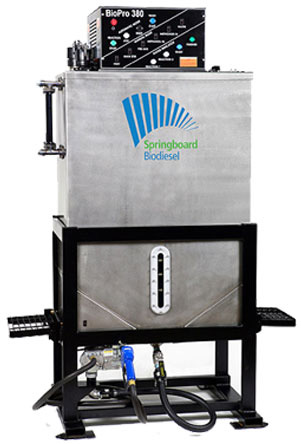 Makes up to 100 gallons of Biodiesel per batch