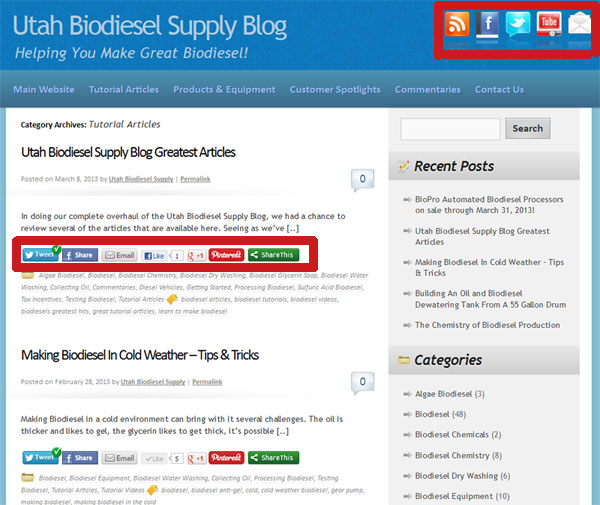 New Utah Biodiesel Supply Blog