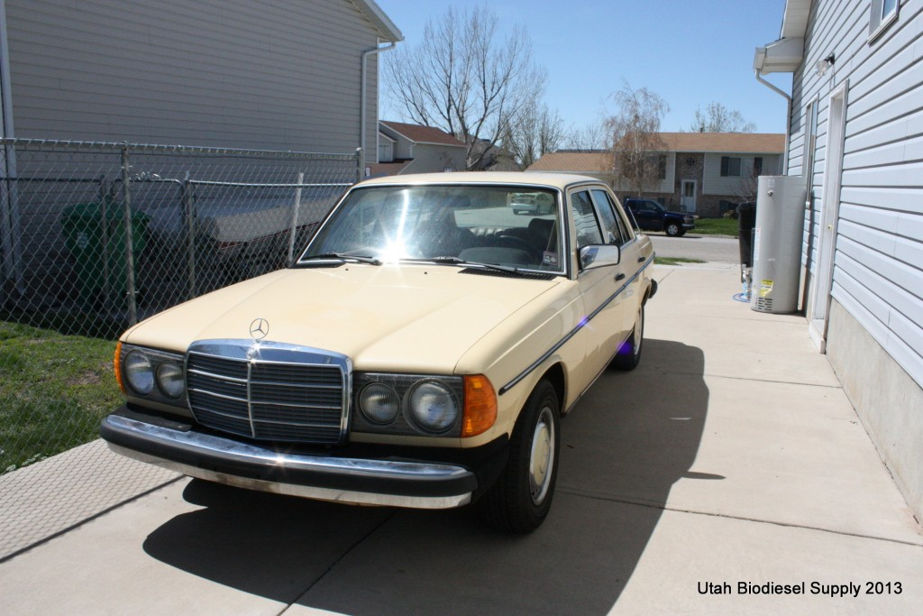 Mercedes 240D Front