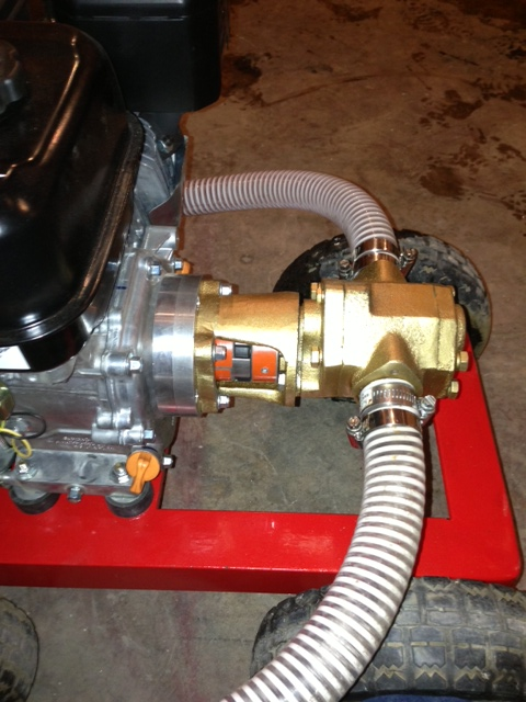 Gas Engine Powered Monster Gear Pump