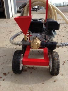 Gas Engine Powered Gear Pump