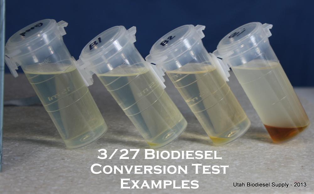 3/27 Testing Biodiesel