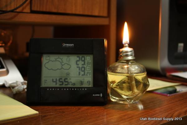 Biodiesel Lamp Wick 4:55