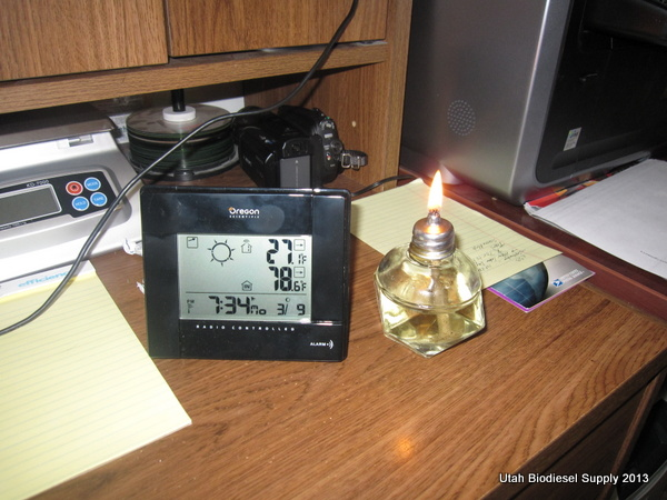 Biodiesel Lamp Wick 7:34