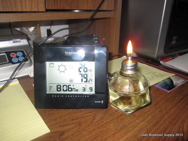 Biodiesel Lamp Wick 8:06