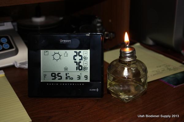 Biodiesel Lamp Wick 9:51
