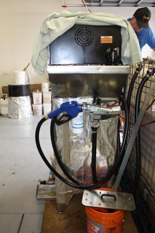 BioPro 190 Fuel Filter Installed