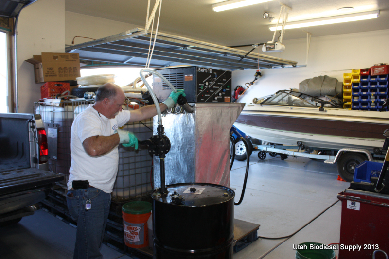 Adding Methanol To Methanol Tank