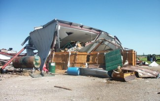 Tornado Damage in Oklahoma