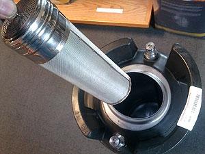 Stainless Corny Keg Dry Hopper for brewing