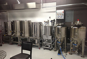 Customers Brewing Setup