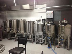 Customers Brewing Setup