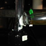 Centrifuge Filtered WVO Drain Line