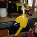 Filling Nozzle for filtered waste vegetable oil