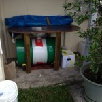 Initial Oil Filtration Tank