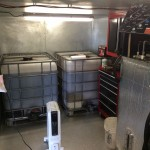 Inside Russ's Biodiesel Production Shed