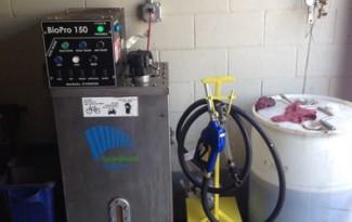 Larry's BioPro 150 automated biodiesel processor