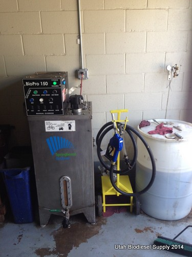 Larry's BioPro 150 automated biodiesel processor