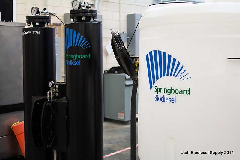 Springboard SpringPro T76 Dry Wash System at Walla Walla Community College