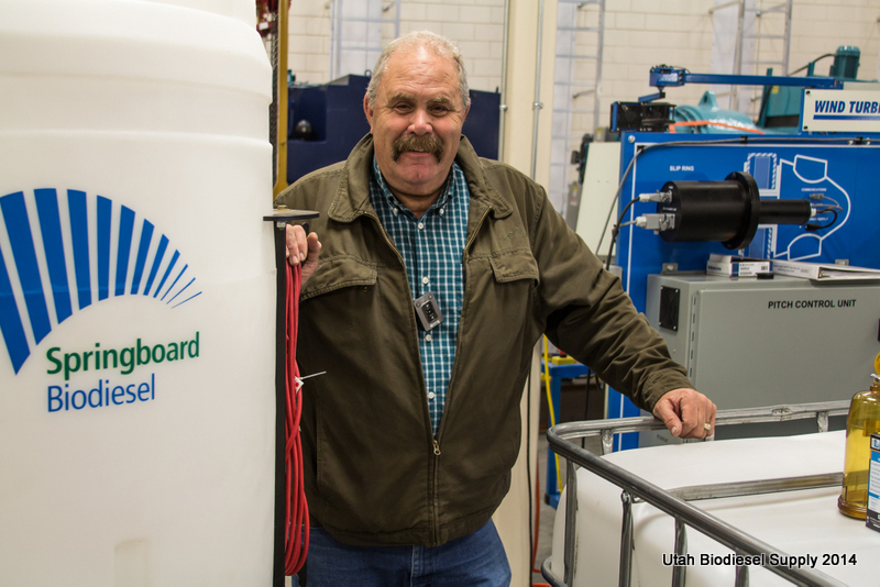 Steve Harvey_CDL Instructor_eager for first batch of biodiesel