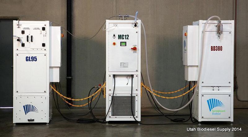 Springboard Biodiesel Methanol Recovery System
