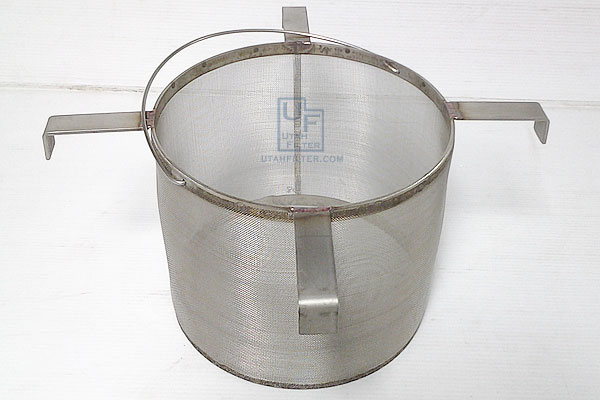stainless steel beer brewing mash strainer