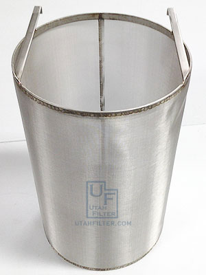 10.5 x 16 inch stainless dry hopper beer filter