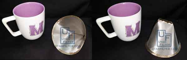 stainless steel coffee cup filter