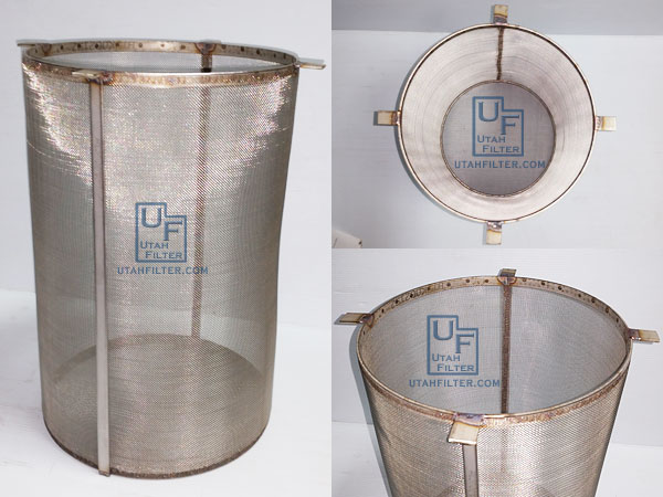 Custom Metal Filter Fabrication Stainless Steel Filters