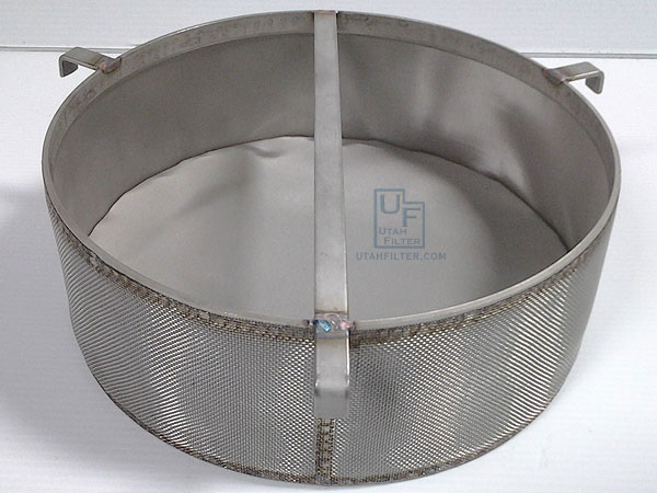 Double-wall stainless filters