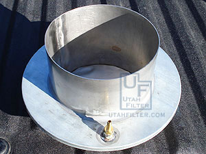custom stainless bucket vacuum filter