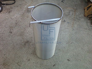 6 inch stainless dry hopper beer filter