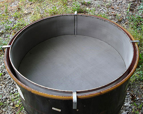 Product Prototype 55 Gallon Stainless Steel Filters