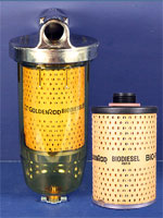 Goldenrod 10 micron fuel filter