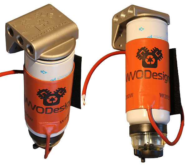 raw power fuel filter heaters - keep your vehicle running ... duramax fuel filter heater
