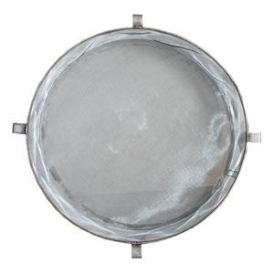 Stainlessdrumfilterside on Inline Hydraulic Filter
