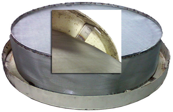 Stainless Filters For Locking Drum Lids