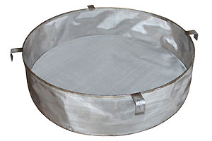 Stainless steel drum filters in several micron sizes