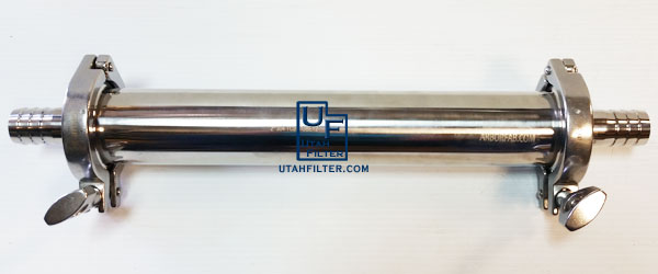 inline stainless filter