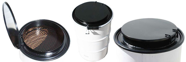 55 gallon heavy duty locking drum lids