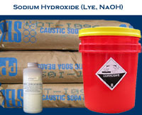 Sodium Hydroxide for Biodiesel soap making NaOH