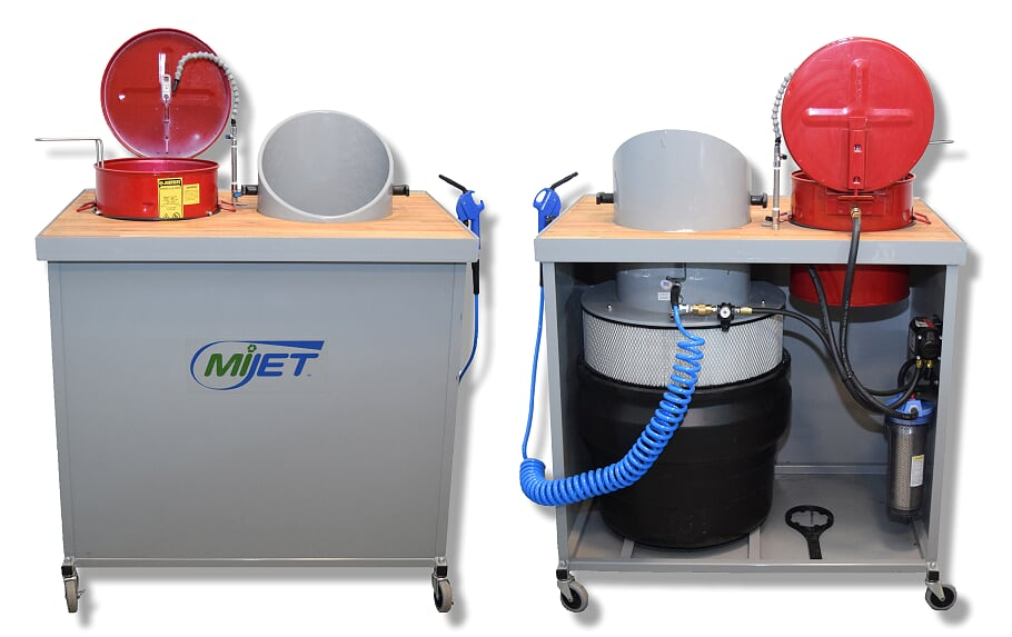 MiJET 12 inch Wash Station with parts basket
