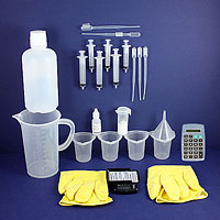 basic titration kit for titrating oil for biodiesel production