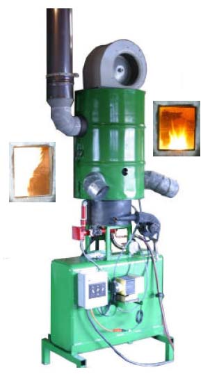 Exhaust Smokeless operation on all recommended fuels